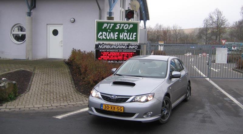 Vuurdoop op de Nürburgring voor Imreza WRX