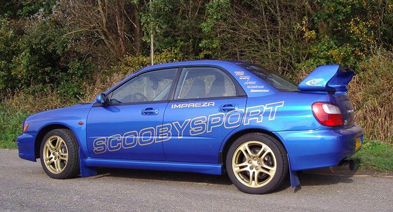 stijlvolle aanpassingen bij Subaru Impreza WRX